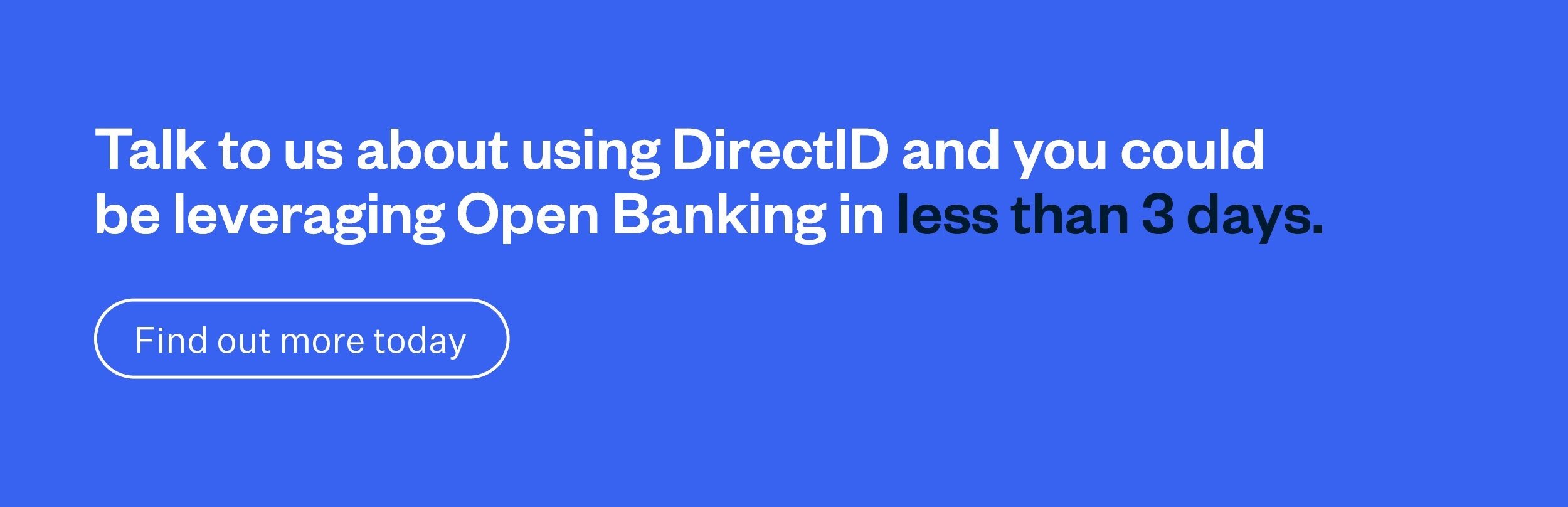 Talk to us about DirectID